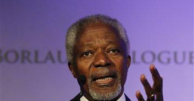 Annan calls for more African aid for farmers