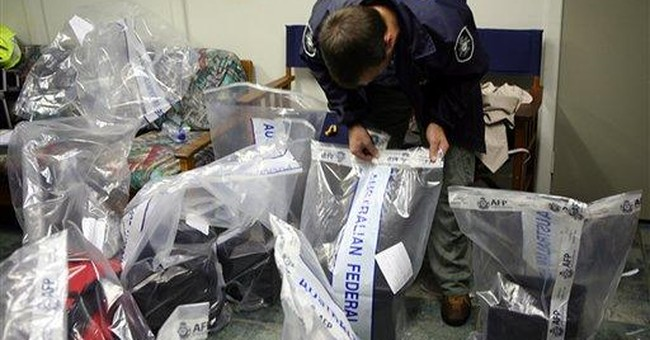 Aust. police seize cocaine after tip-off from US