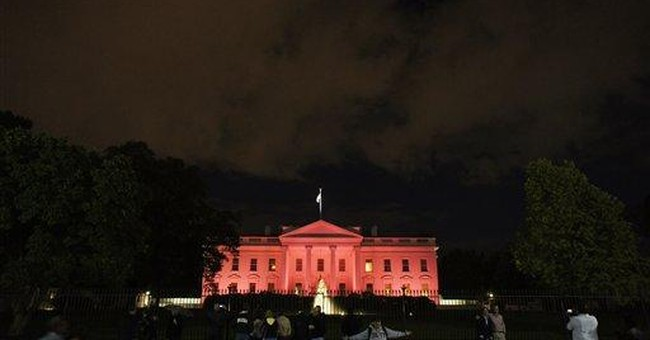 White House becomes 'Pink House' for a night