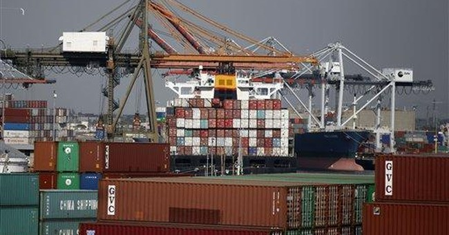 Trade deficit widens sharply to $46.3 billion