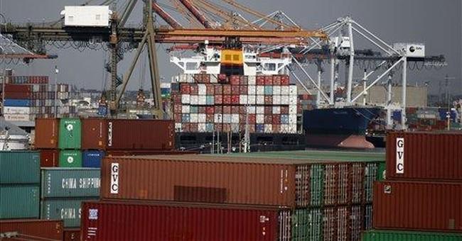 Trade deficit widens sharply to $46.3 billion