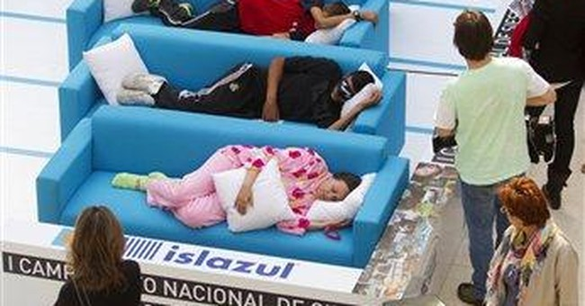 Ready, set, snore! Spain holds siesta contest