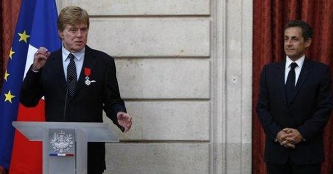 France bestows Legion of Honor on Robert Redford