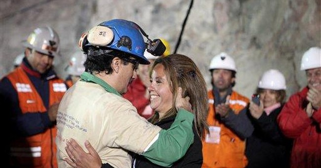 TV, publishing jumping on story of Chilean miners