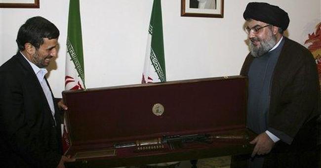 Hezbollah's gift for Ahmadinejad: An Israeli rifle