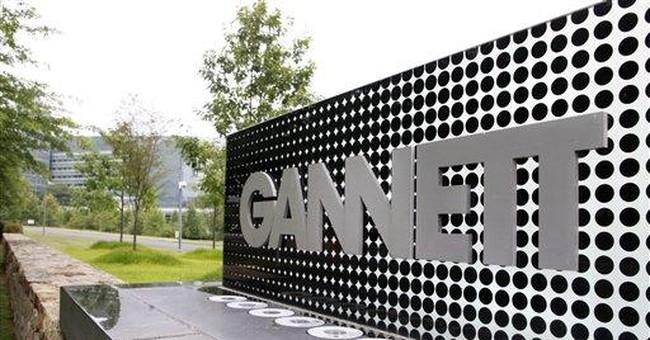 Gannett newspaper woes eclipse TV's upside in 3Q