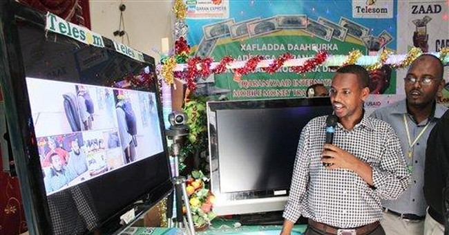 Somalia surprise: Working gov't, no gunfire