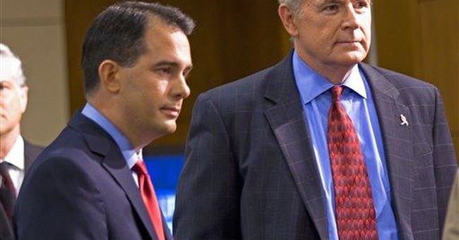 Wis. governor candidates spar over jobs, research