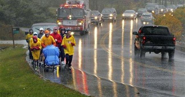 Army vet runs 4,425 miles to honor fallen troops