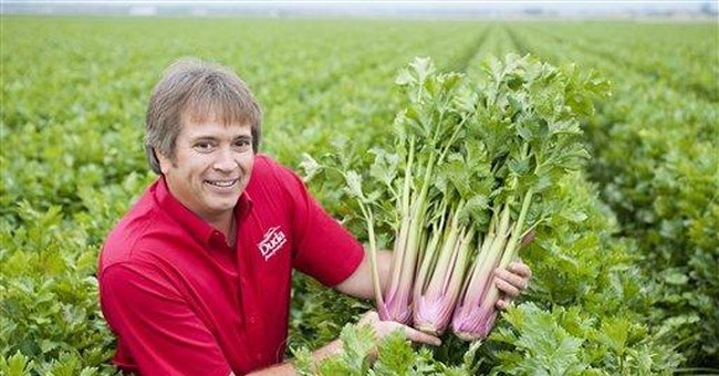 Florida company introduces new, red celery