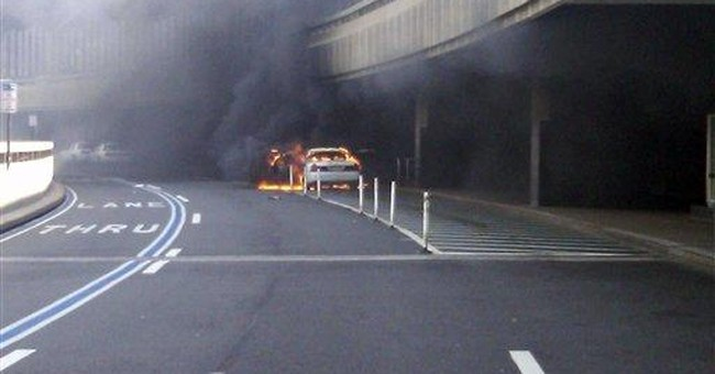No disruptions from taxi fire near NJ airport