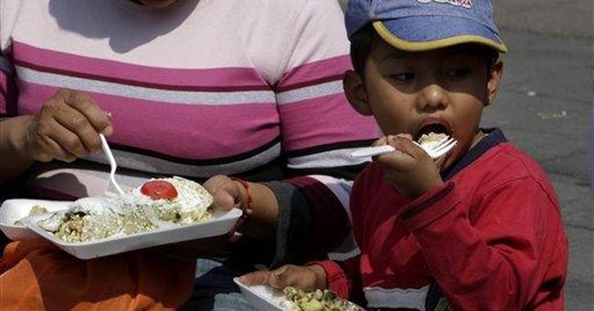 Mexican borough makes world's biggest enchilada