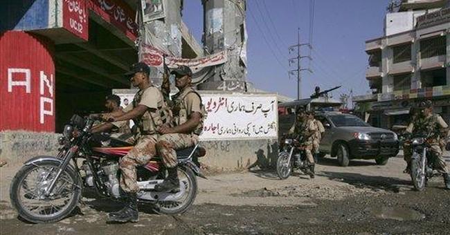 Suspected political violence kills 25 in Pakistan
