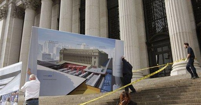 NYC's Penn Station expanding in hub's 101st year