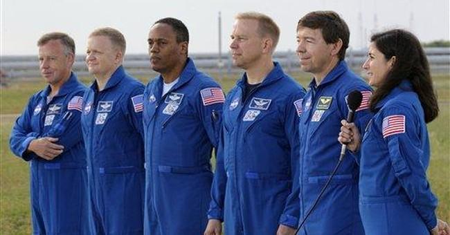 Space shuttle leaking, NASA working up repair plan