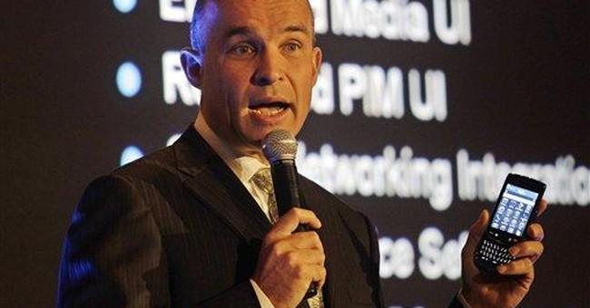 BlackBerry chief sees vast horizons in UAE market