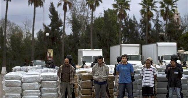 Mexican authorities seize 105 tons of marijuana