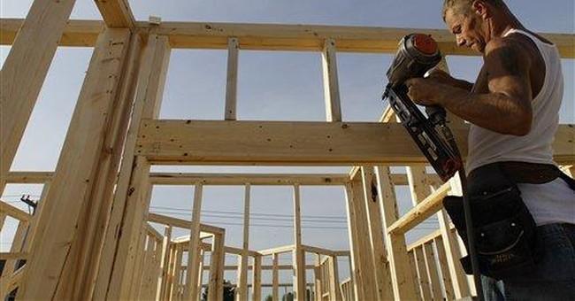 Builders glum on housing market despite uptick
