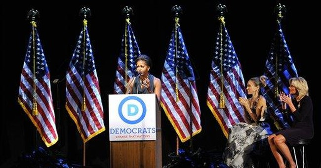 Mrs. Obama: Don't lose faith in president's vision