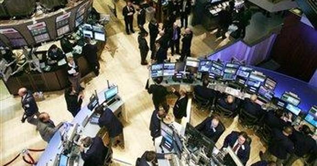Bank stocks push market broadly higher; Dow up 81