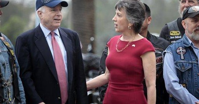 McCain shares Palin's view on tea party influence
