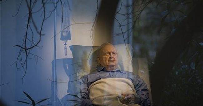 Sculpture of comatose leader stirs Israeli emotion
