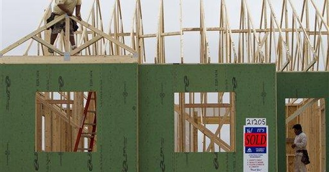 Home starts rises slightly, building permits fall