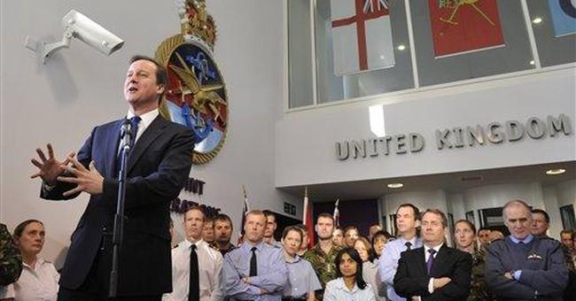 UK's Cameron announces military austerity plan