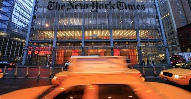 New York Times Co. reports 3Q loss