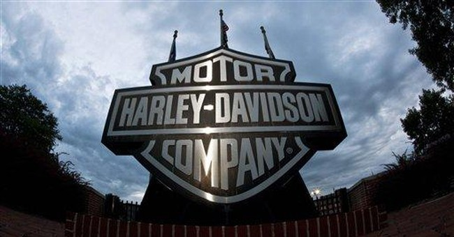 Harley churns out profit in face of falling sales