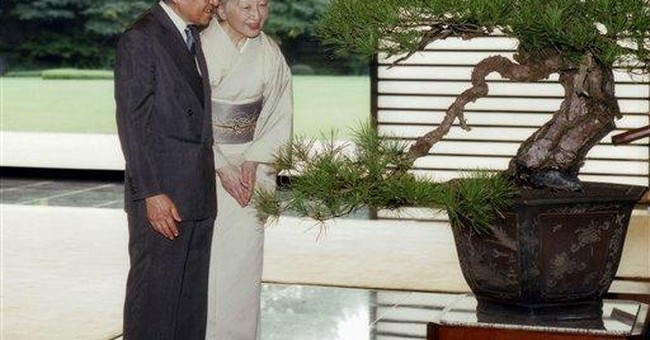 Japan's empress, 76, says she's slowing down