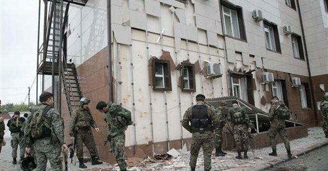 Chechen warlord may be behind parliament attack