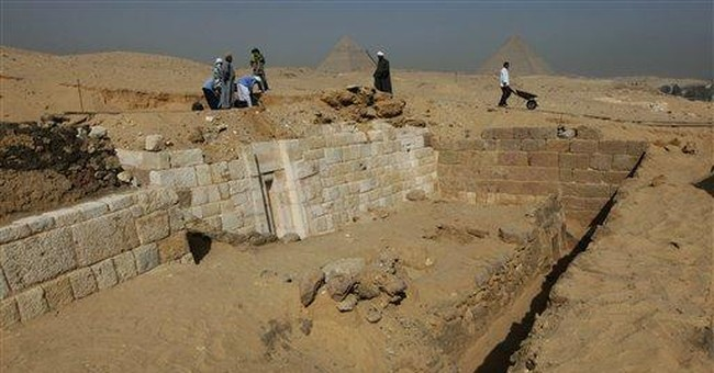 Egypt's top archaeologist shows off new tomb