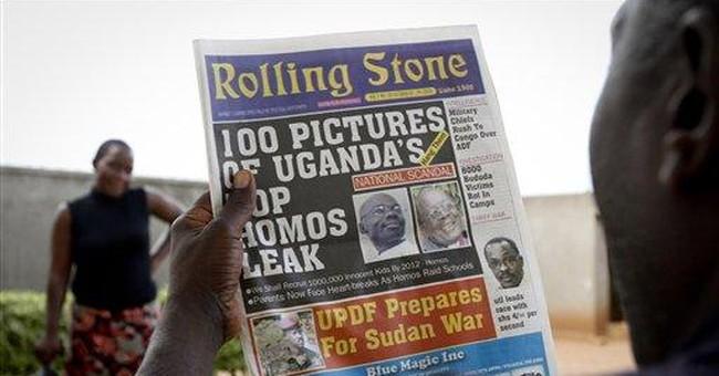 'Hang them': Uganda paper publishes photos of gays