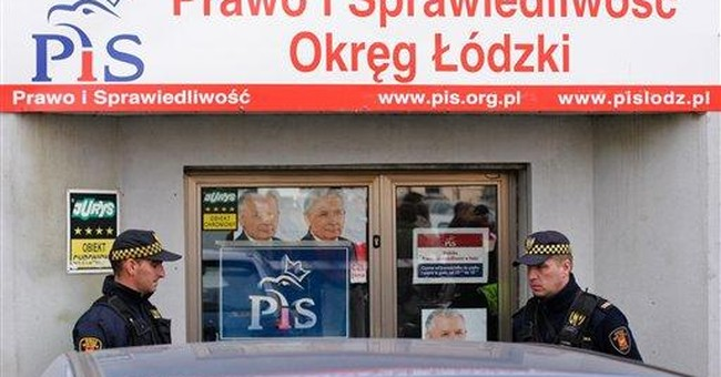 Leader calls Polish attack 'politically motivated'