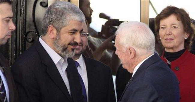 Jimmy Carter says Palestinians live in a 'cage'