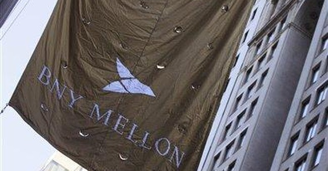Bank of New York Mellon returns to 3Q profit