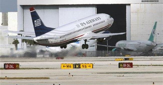 US Airways posts 3Q profit