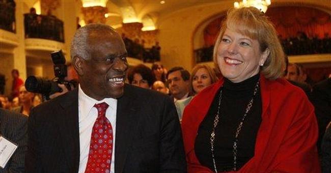 Justice Thomas' wife is veteran political activist