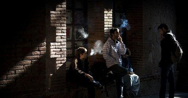 Spain says 'Adios' to smoking in bars, cafes