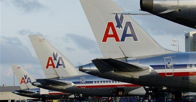 American Airlines parent AMR posts 3Q profit