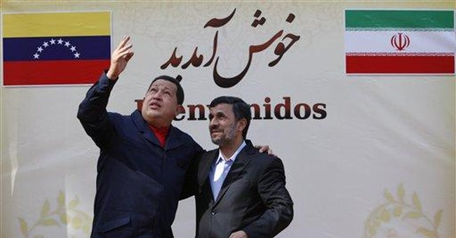 Chavez visits Syria on tour to counter US sway