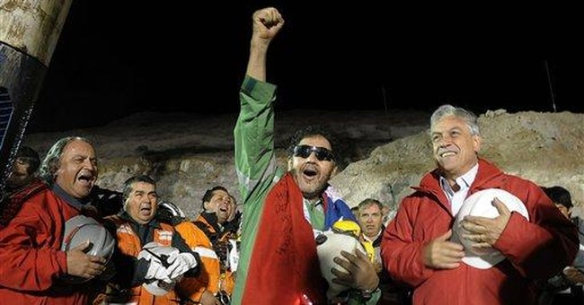 Humor helps Chile deal with miner crisis