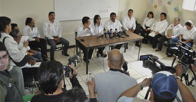 Student, 20, heads police in Mexico drug corridor