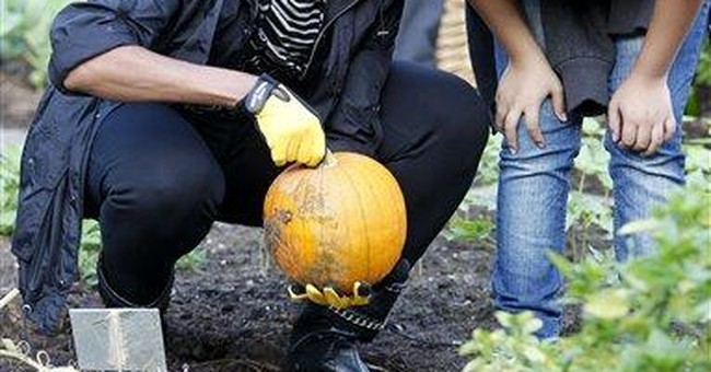 White House fall harvest turns up turnips and more