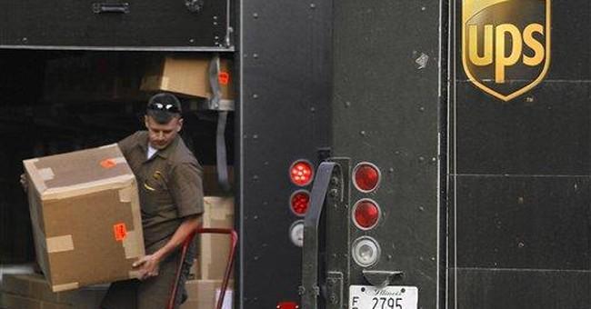 UPS says economy 'unexciting,' but 3Q profit soars