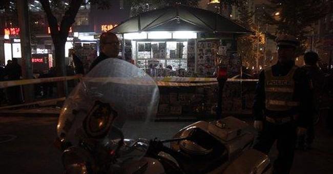 Blast injures American student in central Beijing