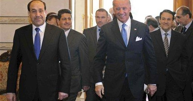 Iraqi leaders not following US advice on gov't