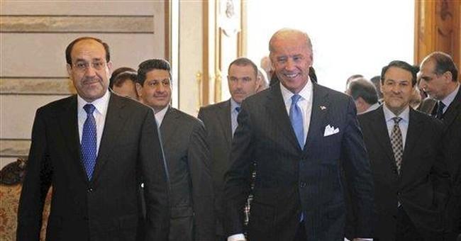 Iraqi leaders not following US advice on gov't