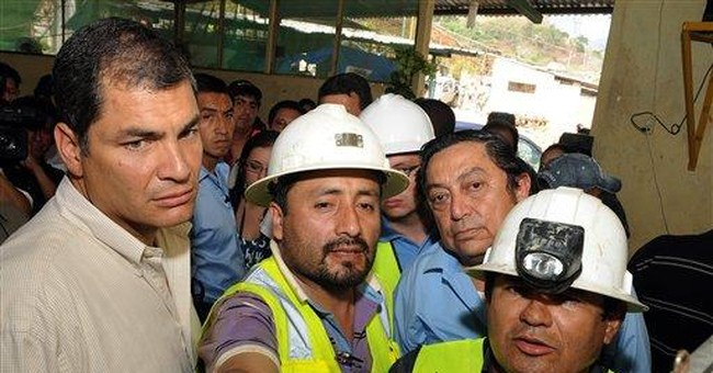 Last of 4 missing miners found dead in Ecuador